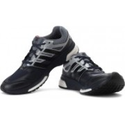 ADIDAS Response Boost Techfit M Running Shoes For Men(Black, Grey, Navy)