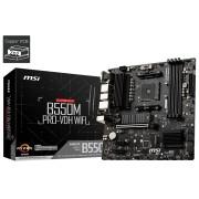 MB MSI B550M Pro-VDH Wifi, AM4, micro ATX, 4x DDR4, AMD B550, WL, 36mj (7C95-001R)