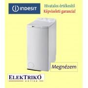 Indesit ITWA51051 W(EU) felültöltős mosógép, A+ energiaosztály
