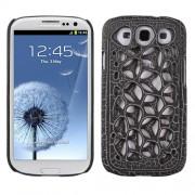 Protector Samsung Galaxy S3 Telaraña Negro Mate
