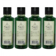 Khadi Pure Herbal Neem Sat Shampoo - 210ml (Set of 4)