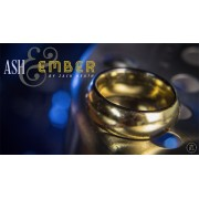 Ash and Ember Gold Curved Size 13 (2 Rings) by Zach Heath - Tric
