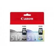 Canon Pack Tinteiros PG-510 + CL-511 (2970B010)