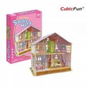 Puzzle 3D CubicFun CBF4 Deram Dollhouse Saras Home