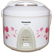 Panasonic SR-KA15A Electric Rice Cooker with Steaming Feature(4.3 L, White)