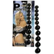 Anal Pearls Black / Guličková reťaz - 511641