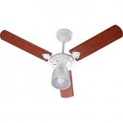 Ventilador Marbella 220V 3P Cvm New Branco 138,7W Teto BRANCO/MOGNO
