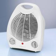 Clatronic HL 3378 - Calefactor, 2 niveles de temperatura, función ventilador, 2000 W, color blanco