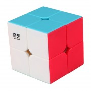 Cubo Magico Rompecabezas Magic Cube Qiyi QiDi S 2x2-multicolor