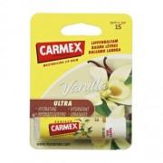 Carmex Vanilla SPF15 балсам за устни 4,25 гр за жени