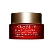 Clarins haute exigence nuit multi intensive crema antieta notte intensiva tutti i tipi di pelle viso 50 ML