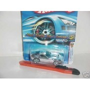 2005 First Edition Hot Wheels Realistix Ford Shelby GR-1 Concept Chrome #016 1:64 Scale