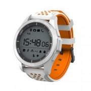 Smartwatch sport F3- bluetooth -rezistent la apa-alb
