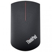Мишка Lenovo ThinkPad X1 Wireless Touch Mouse, оптична (1000 dpi), USB, безжична (Wi-Fi 2.4GHz & Bluetooth 4.0), вграден тъчпад за презентации от долната страна, черна