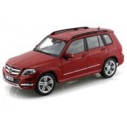 Maisto Mercedes-Benz Glk-Class Suv, Red Scale Diecast Model Toy Car