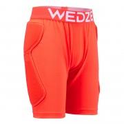 Wedze Short protection de ski et snowboard junior DSH 100 orange - Wedze