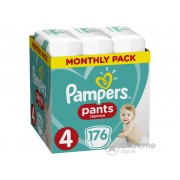 Pampers Pants pelene-gaćice, veličina: 4, 176 kom