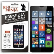 Real Ninja Tempered Glass Screen Protector For Mircosoft Lumia 640