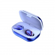 SE-9 Bluetooth 5.0 Wireless Earphones TWS Stereo Headset In-Ear Earbuds Sports Headset with Charging Box - Blue