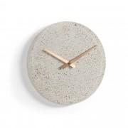 Kave Home Reloj de pared Alexia Ø 27 cm beige