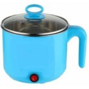 fab Electric Multifunction Cooking Pot 1.5 Litre Multi-Purpose Cooker Rice Cooker, Food Steamer, Egg Roll Maker, Travel Cooker, Slow Cooker, Egg Cooker, Egg Boiler(1.5 L, Blue)
