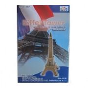 Eiffel Tower ~ Mini Architecture Series ~ 3d-puzzle ~ 20 Pieces