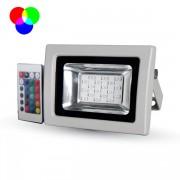 FARO LED 10W RGB DA ESTERNO GRIGIO VT-4711RB-LED5895