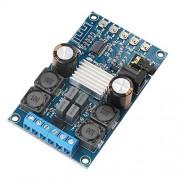 XIAOMINDIAN-HAT XIAOMINDIAN Tablero del Amplificador de Bluetooth BT 3.0 4.0 4.1 Audio Amp 2 Amplificador Digital Board Canales inalámbricos Amplificador 50W módulo con el Caso Partes de la Impresora