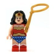 Lego Superheroes Wonder Woman Figure - From 6862