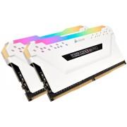 Corsair Vengeance RGB Pro Weiß 16GB DDR4 Kit 2666-16 K2