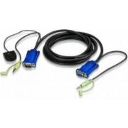 Cablu Video Aten VGA-Audio - VGA-Audio 5m