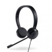 Слушалки Dell UC150 Pro Stereo Headset, микрофон, USB, черни