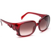Emilio Pucci Over-sized Sunglasses(Grey, Pink)