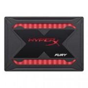 "SSD 240GB, HyperX Fury RGB, SATA III 6Gb/s, 2.5"" (6.35 cm), скорост на четене 480 MB/s, скорост на запис 550 MB/s, RGB подсветка"