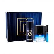Paco Rabanne Pure XS confezione regalo eau de toilette 100 ml + deodorante 150 ml + eau de toilette 10 ml uomo