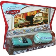 Movie Moments RUSTY RUST-EZE & DUSTY RUST-EZE Disney / Pixar CARS 1:55 Scale Die-Cast Vehicle 2 Pack