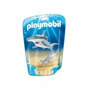 Playmobil Family Fun Hammerhead Shark with Baby (9065)