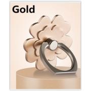Držiak mobilného telefónu v tvare prsteňa kvet zlatý