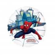Balon folie metalizata transparenta Spiderman, 66 cm diametru