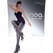 Knittex - Elegant floral pattern tights Rosana 50 DEN