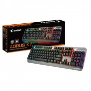 KBD, GIGABYTE Aorus K7 RGB, Red Switch, Gaming, USB, Black
