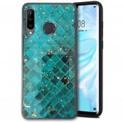 Funda Case para Huawei P30 Lite Protector Imagen 2D Brillos
