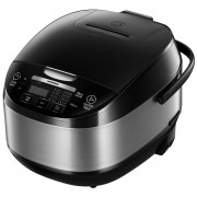 Multicooker Heinner HMCK-5BK, 5 L, 770 W, 11 programe, Timer, Control Touch, Functie mentinere la cald, Negru