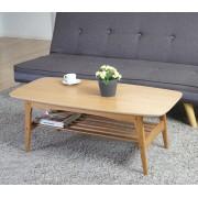 Couchtisch Bergamo, Wohnzimmertisch Beistelltisch, 41x105x50cm ~ Variantenangebot