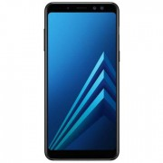 Samsung Galaxy A8 (2018, 32GB, Midnight Black, Local Stock)
