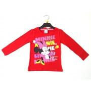 Bluza rosie Minnie Mouse 3-8ani