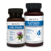 MILK THISTLE & TURMERIC (Curcuma) VALUE PACK