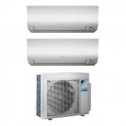Daikin Condizionatore Dual Split Inverter 7+15 7000+15000 Btu A+++ R32 Serie Ftx M 2mxm50m