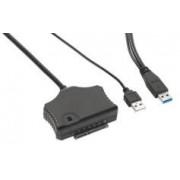 Xystec Adaptateur USB 3.0 autoalimenté pour disques durs SATA HDD