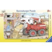 PUZZLE EXCAVATOR 15 PIESE Ravensburger